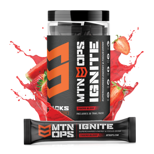 Mountain Ops Ignite (Trail Packs)- Supercharged Energy and Focus