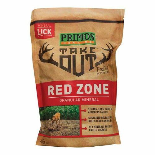 Primos Take Out Red Zone Granular Mineral 4LB