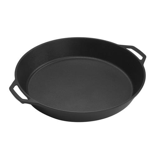 "Lodge Dual-Handled 17"" Cast Iron Pan"