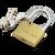 30mm Brass Padlock