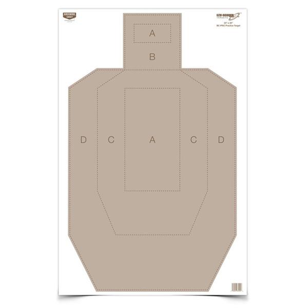 """Birchwood Casey EZE-Scorer 23x35"""" IPSC Practice Target (5 Pack)"""