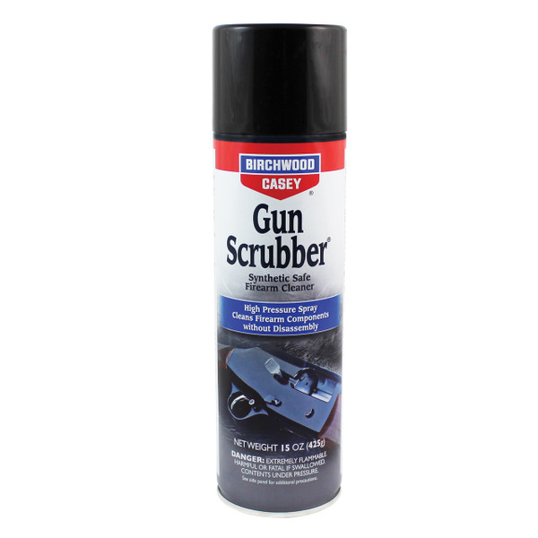 Buy 1 Get 1 50% | Birchwood Casey Gun Scrubber Synthetic Firearm Cleaner 15 oz. Aerosol