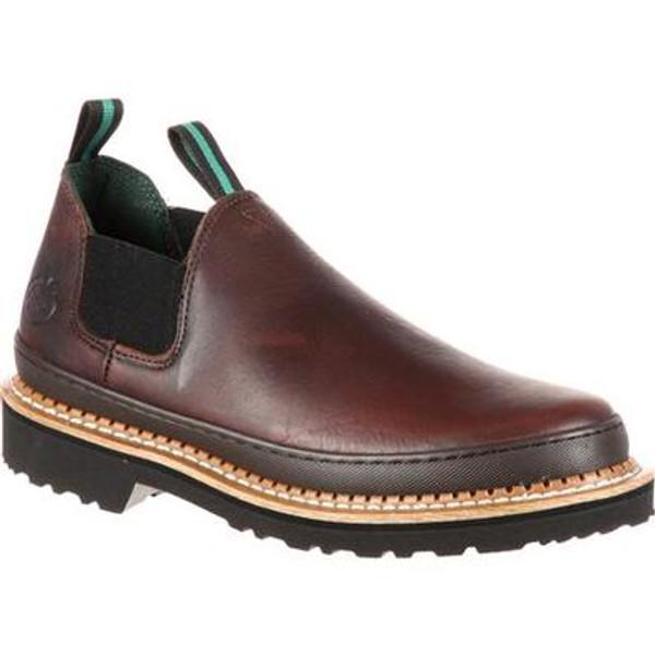 Georgia Boot Giant Romeo Work Shoe Brown