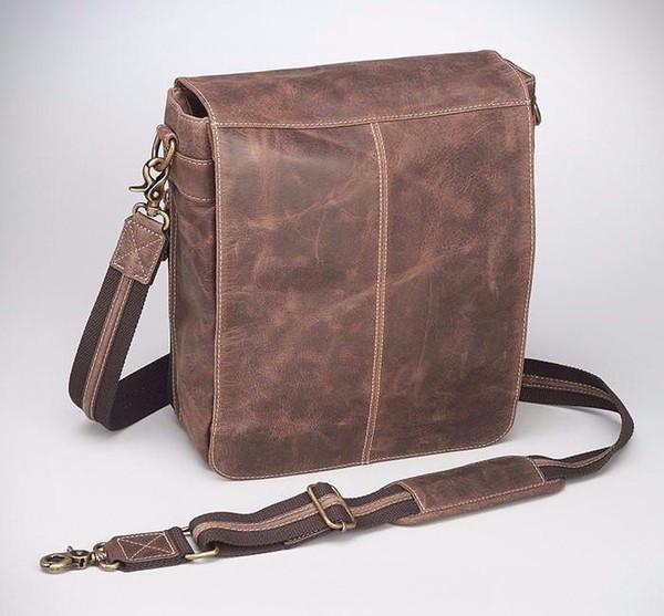 Conceal Carry Vintage Messenger Bag