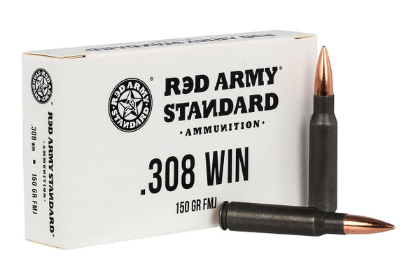 Red Army Standard .308 WIN Ammuntion (20)