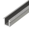CRL SDCF38BA 10mm Recessed Aluminium U-channel for Bespoke Glass Panels