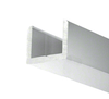 SDCR38BA Uchannel low profile for shower glass