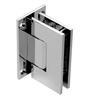 GEN337CH Adjustable Geneva hinge in chrome