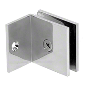 SGC037CH Wall to glass clamp for shower glass panels