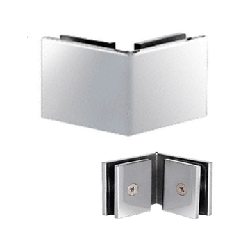 SGC90CH Shower Glass to glass 90 Degree Clamp