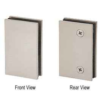 Geneva Brushed Nickel Geneva Glass Mount Plate for RPS
