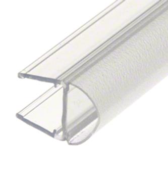 PCR10 Translucent Bulb Shower Seal for 10mm Shower Glass Doors