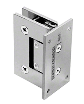 GEN344CH adjustable Geneva hinge in Chrome for Shower Doors