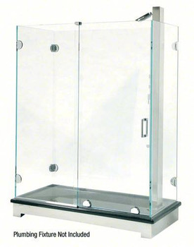 Essence Sliding Door Kit - Headerless - Rounded Styling