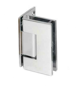 V1E044CH Wall Mounted offset Shower Glass Door Hinge - Heavy Duty