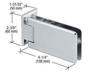 Grande Grande 044 Series Wall Mount Offset Back Plate Hinge