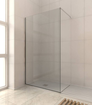 8mm Shower Glass Fixed Panel Kit 2000mm x 1200mm
