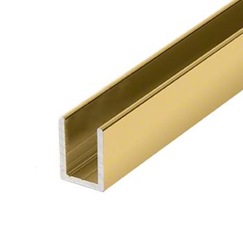 SDCD38BGA CRL Shower Glass U-channel in Gold