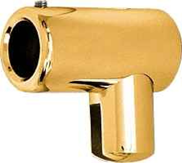 Gold Plated Support Bar U-Bracket for 6mm and 8mm Glass