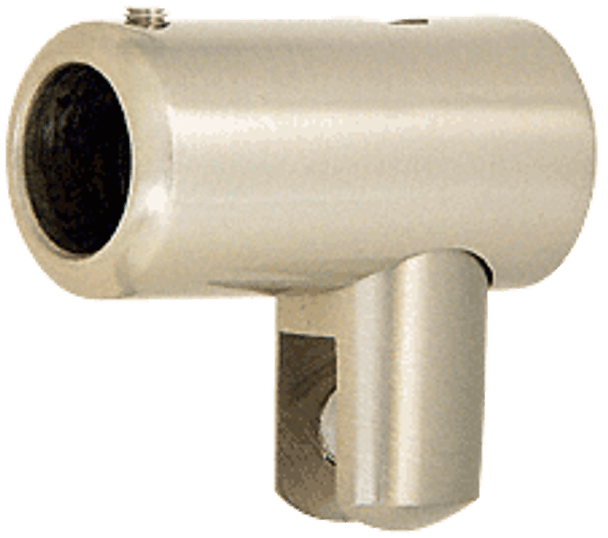 Brushed Nickel Plated Support Bar U-Bracket for 6mm and 8mm Glass