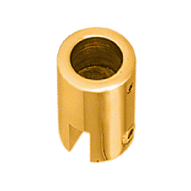 Gold Plated Support Bar Bracket for 6mm to 8mm Glass
