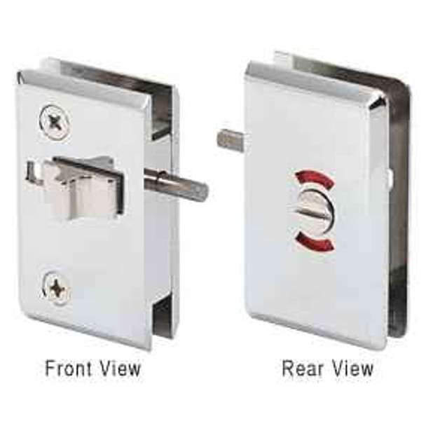 Chrome Pinnacle Sliding Block Lock for RPS