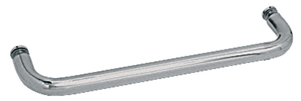 Polished Nickel 20 BM Series Single-Sided Towel Bar Without Metal Washers