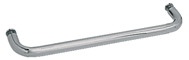 Polished Nickel 24 BM Series Single-Sided Towel Bar Without Metal Washers