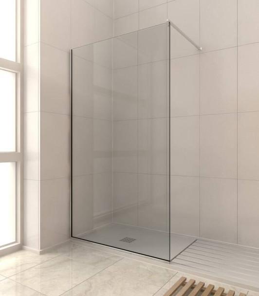 Optimum2 10mm Shower Glass Screen or Panel Kit 2000mm x 1200mm