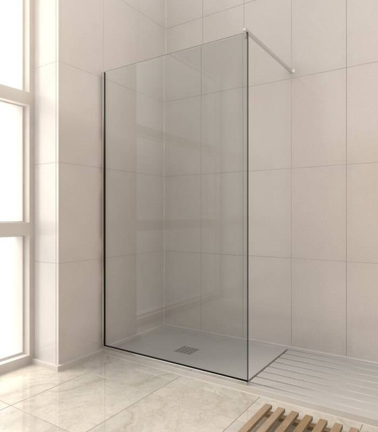 8mm Shower Glass Fixed Panel Kit 2000mm x 200mm