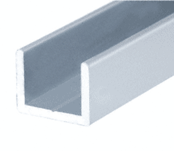 SDCR12 Low Profile Uchannel for 12mm Glass