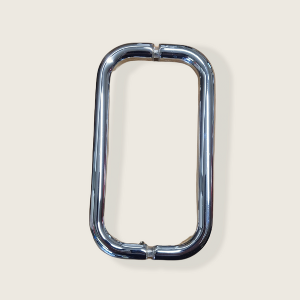 Chrome 8 BM Series Back-to-Back Handle Without Metal Washers