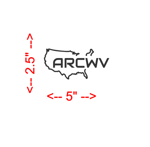 American Ram Club (ARC) 3rd Brake Light Decal