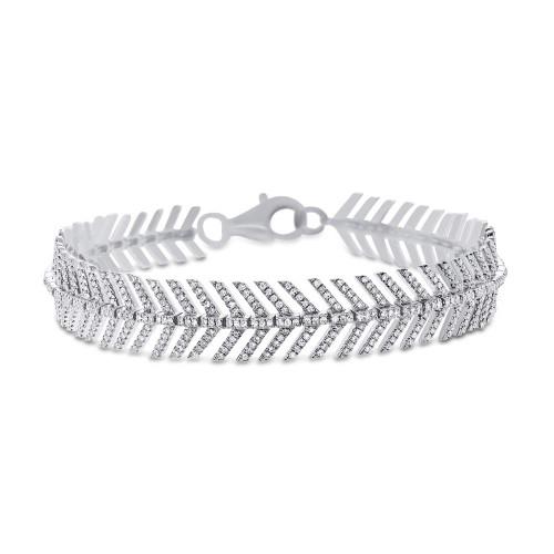 14kt Gold Feather Bracelet