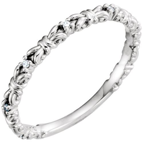 14kt Gold Vintage Stackable Ring