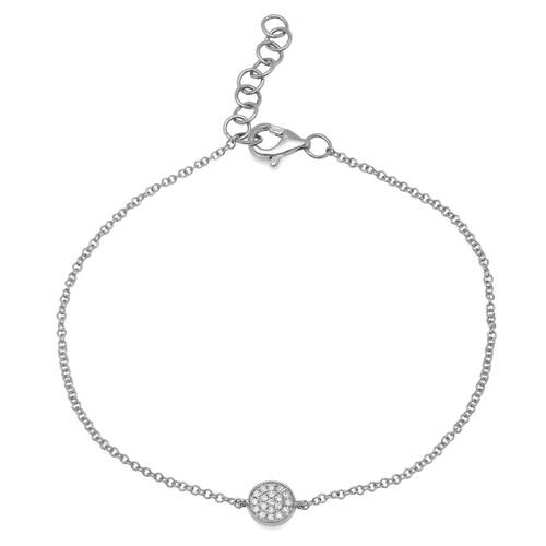 White Gold Bracelet- 14K