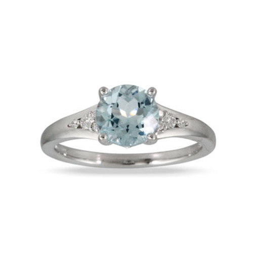 18K White Gold Solitaire Engagement ring - Little Bird Collection