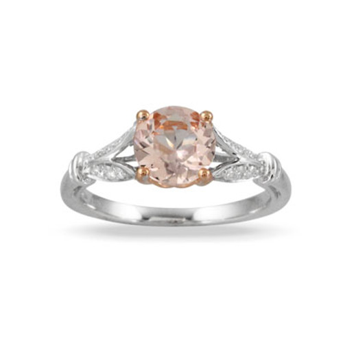 18K White Gold MG Engagement ring - Little Bird Collection