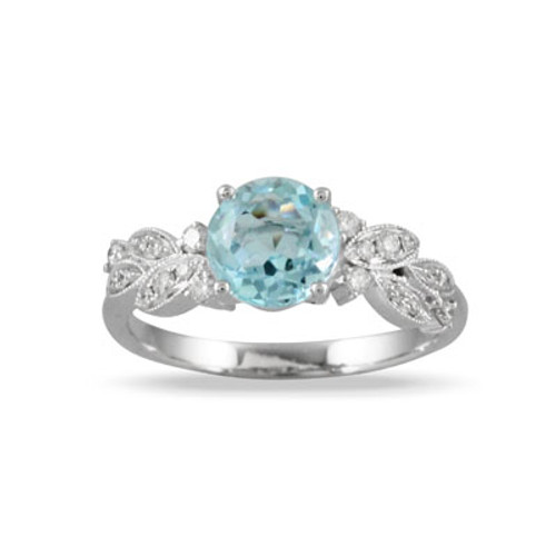 18K White Gold BL Engagement Ring - Little Bird Collection
