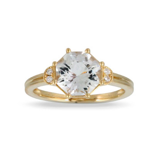 18k Yellow Gold WT Ring - Little Bird Collection