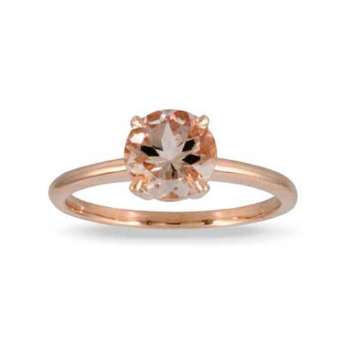 18K Rose Gold MG Solitaire Engagement ring - Little Bird Collection