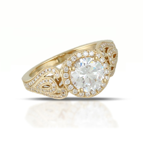 18K White Gold  Engagement ring - Little Bird Collection