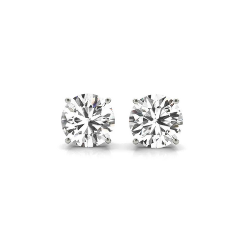 14K White Gold Certified Lab Created Diamond Stud Earrings (1 1/2 ct. tw.)