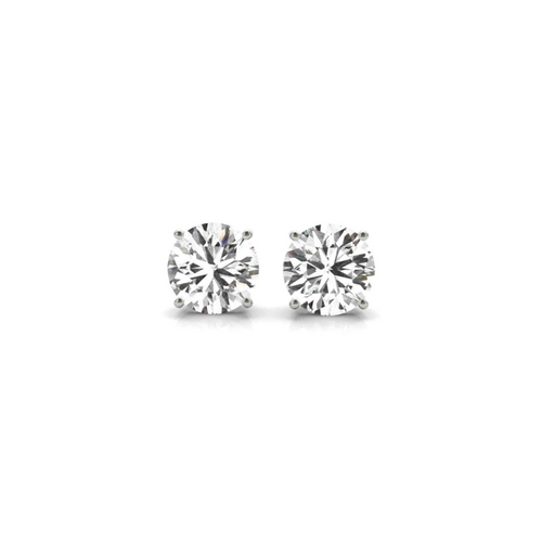 14K White Gold Certified Lab Created Diamond Stud Earrings (1 ct. tw.)