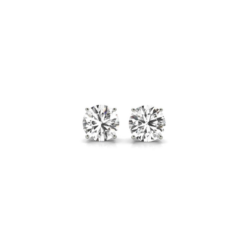 14K White Gold Certified Lab Created Diamond Stud Earrings (3/4 ct. tw.)