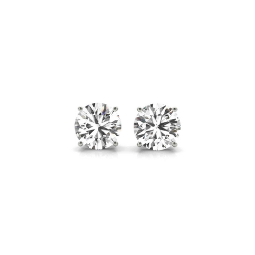 14K White Gold Certified Lab Created Diamond Stud Earrings (1 3/4 ct. tw.)
