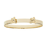 9ct Gold Expandable Teddy Baby Bangle
