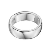 Men's Chunky Solid Silver Band Ring