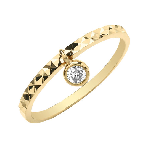 Theia Collection | 9ct Gold Charmed Ring