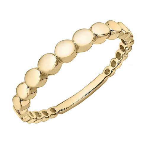 Theia Collection | 9ct Gold Graduated Bead Ring